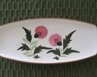 Stangl Pottery, Serving Dish, Thistle Pattern, Vintage