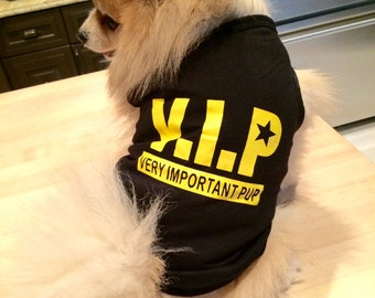V.I.P : Very Important Pup Tank Top
