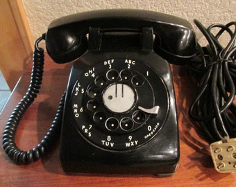 Genuine Vintage Western Electric Dial Phone