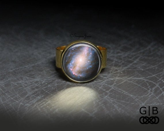 space ring cosmic space ring jewelry vast space ring vast