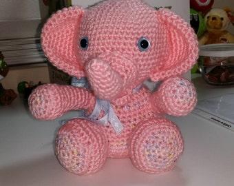 Baby Elephant, Handmade, crochet