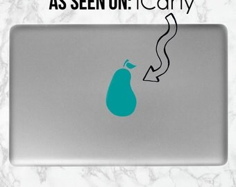 iCarly Laptop Sticker | iCarly Pear Sticker | Pear Laptop Sticker | Computer, Laptop, Mac Stickers/Decals