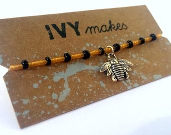 SALE! Honey Bee Stretch Bracelet
