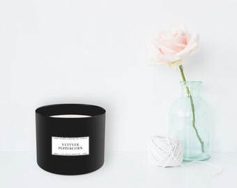 Vetyver + Peppercorn Candle (385 g)