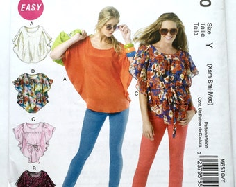 McCall's 6510 Top XS-S-M