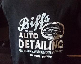 Biffs Auto Detailing Tshirt/BTTF Back To The Future Tshirt/Marty McFly/Biff
