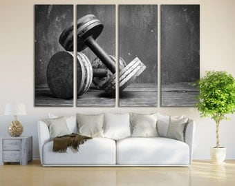 unique gym decor related items  etsy
