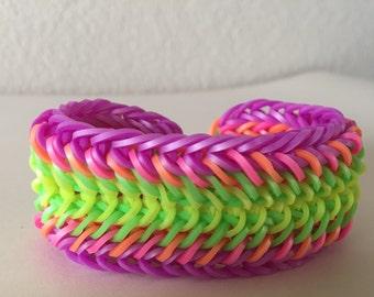 Neon Party band bracelet