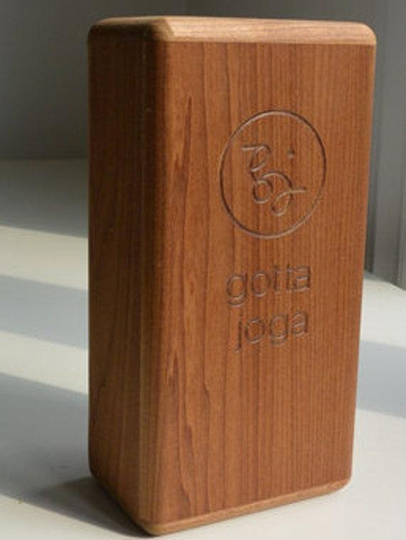 how to make a yoga block wood