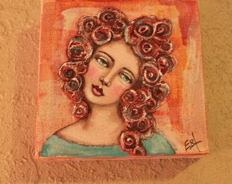 Big Curly Girl # 5