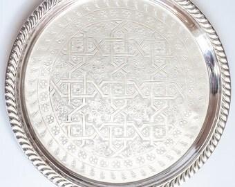 Moroccan Tray 'Sinia' - Medium