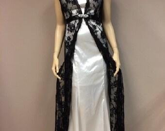 Callie black formal gown holder 5