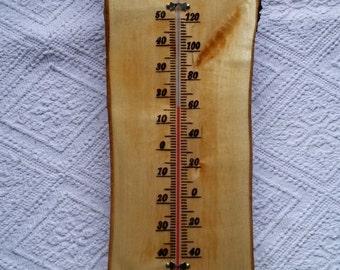 Pyrography barometer