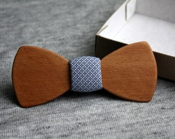 Wood bowtie Classic | 100% hand made.