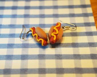 Hot Dog! Earrings