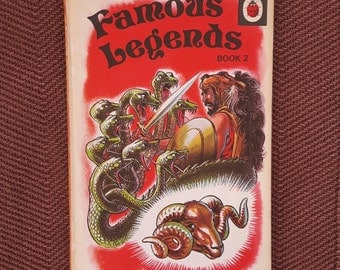 Ladybird Book Famous Legends Book 2 vintage 1975