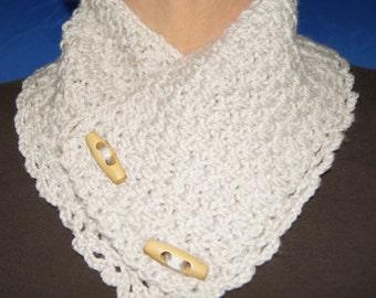 Crocheted Collar Scarf