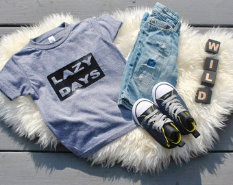 Lazy Days Tee