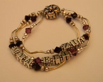 Personalized Name Bracelet - Mother's Bracelet