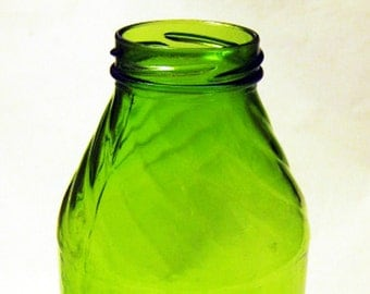 Green Glass Bottle