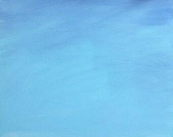 Blue Scape Painting