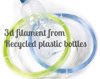 per 5 m. - HQ 3D filament - 90% recycled from old plastic bottles REFIL filament  - 1.75 / 2.85 for 3D pen, 3D stylo, 3D printing
