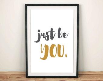Just Be YOU - Digital Download