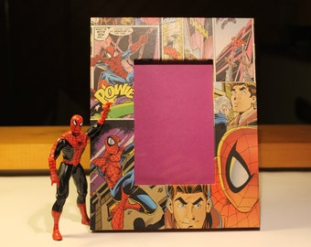 Marvel Spiderman Comic Book Photo Frame