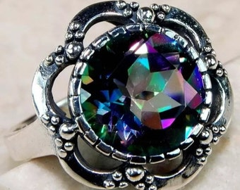 Color changing mystic topaz