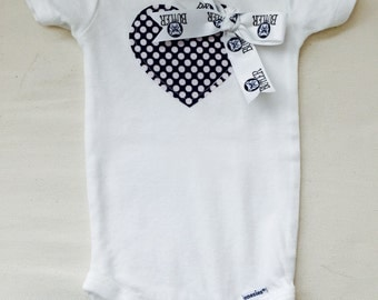 Butler University Heart Onesie