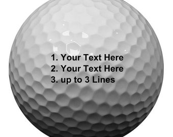 Custom Golf Balls/Personalized Golf Balls