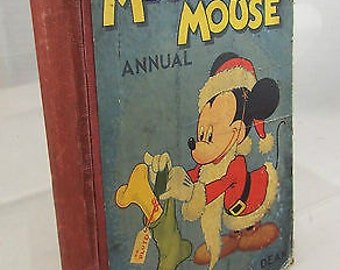 Vintage Mickey Mouse Annual - 1947