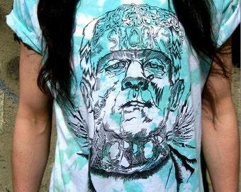 Frankenstein Tie Dye Tshirt