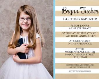 Announcement - Baptism