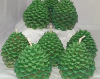 Pine Cones of Purification Candles-Pack of 2