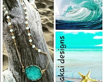 Boho beachy chic necklace