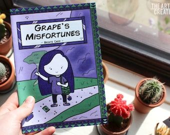 Grape's Misfortunes // Comic Book Art // Story Book // Gifts