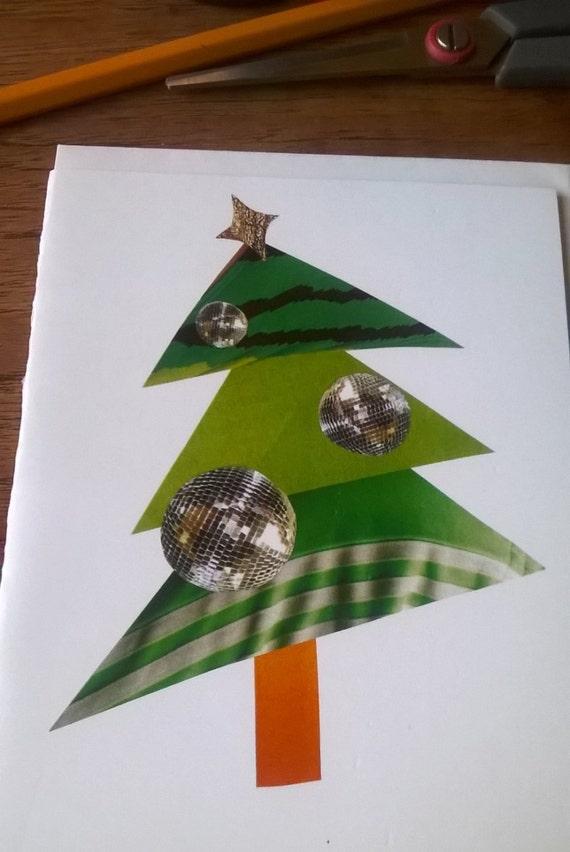 Card - Disco Christmas Tree