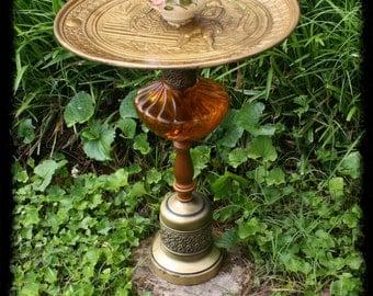 Vintage UpCycled Bird Bath