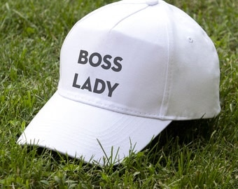 Lady Boss Hat Lady Cap Baseball Cap Gift for Her Summer Cap Wifey Cap Girl Cap Women Gift for Boss Funny Hat Embroidery Cap Boss Lady PA2004