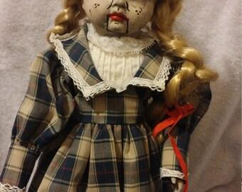 Violet the ventriloquist doll