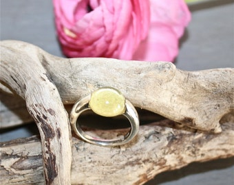 Ring Jalna - Lemon quartz