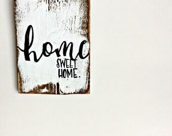 Mini Home Sweet Home Sign