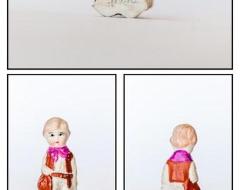 Vintage Bisque Figurine/Penny Doll / Frozen Charlotte -Doll#8