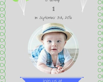 Birthday Invitation - Personalized 001