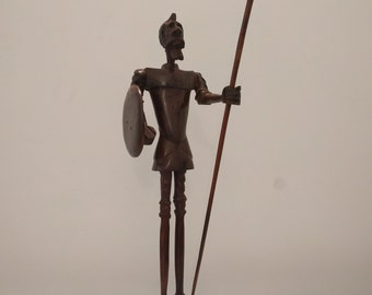 Don Quijote Seri Ironwood Carving