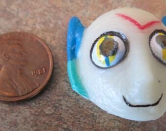 Dollhouse Miniature Alien Halloween mask