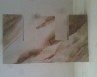"""Custom Granite Letter """"E"""""""