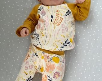 Morning Meadow Shirt-long sleeves // baby shirt // toddler shirt // gender neutral shirt  // flower shirt