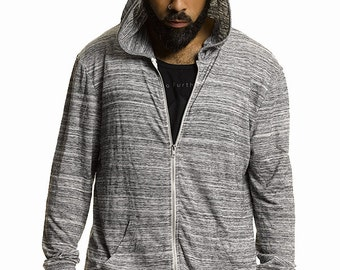 Grace Parkour | Go Further Hoodie in Concrete Grey